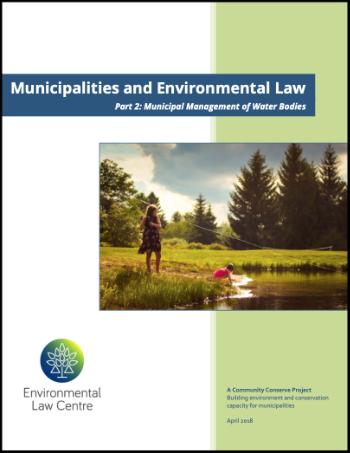 Municipal Management of Water Bodies