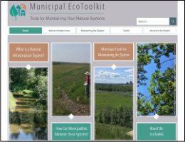 Municipal EcoToolkit: Tools for Maintaining your Natural Systems