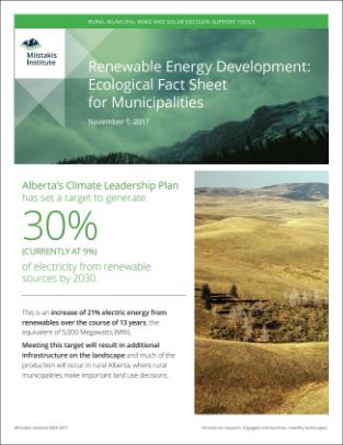 Renewable Energy for Rural Municipalities