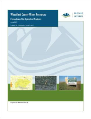 Water Survey – Wheatland County