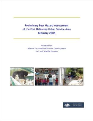 Bear Hazard Assessments for Alberta Municipalities