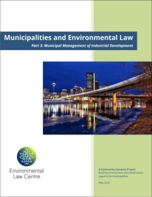 Municipal Management of Industrial Development