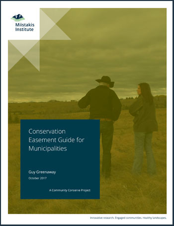 Conservation Easement Guide for Municipalities