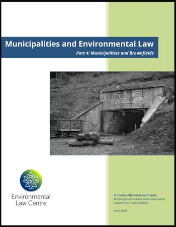 Municipalities and Brownfields