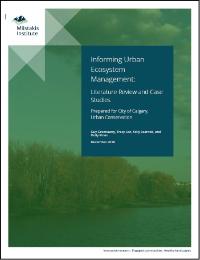 Informing Urban Ecosystem Management