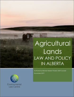 Agricultural Lands Law and Policy in Alberta