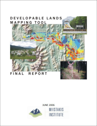 Modelling Developable Lands in a Municipality