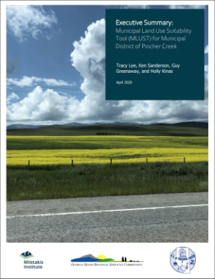 Municipal Land Use Suitability Tool (MLUST)