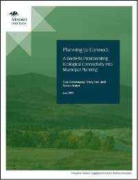 Ecological Connectivity – Modelling, Planning and Municipalities