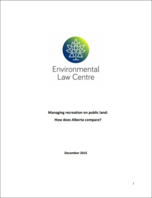 Managing Recreation on Public Land: How Does Alberta Compare?