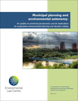 Municipal Planning and Environmental Autonomy